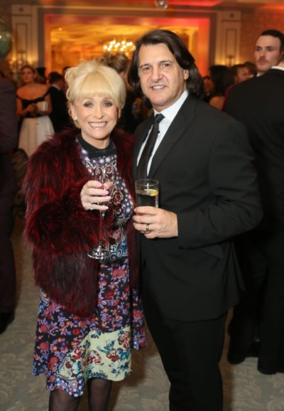 Barbara Windsor and Scott Mitchell