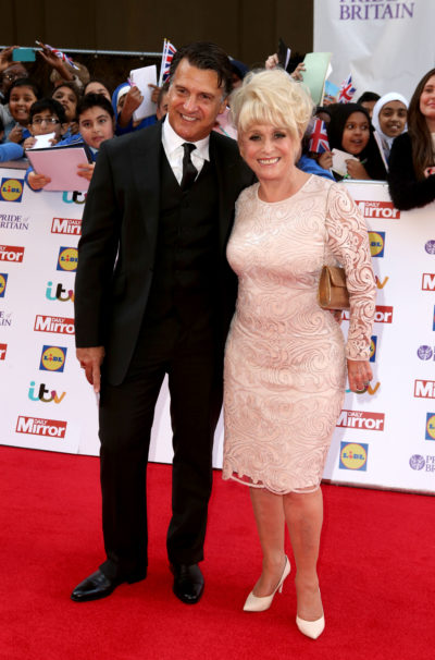 Barbara Windsor on the red carpet with Scott