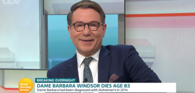 Richard Arnold discusses EastEnders star Barbara Windsor on GMB