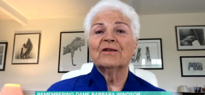 Pam St Clement on This Morning - talking about Barbara Windsor