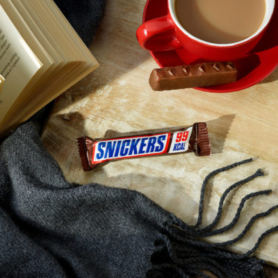 new 99 calorie snickers