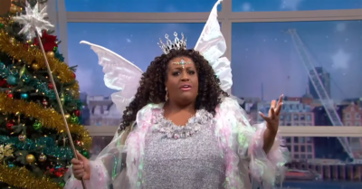 Alison Hammond during This Morning panto