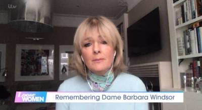 Jane Moore remembered Barbara Windsor after her death