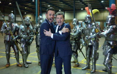 ant and dec Saturday knight takeaway
