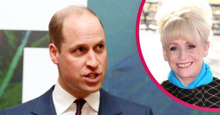 Prince William news Barbara Windsor