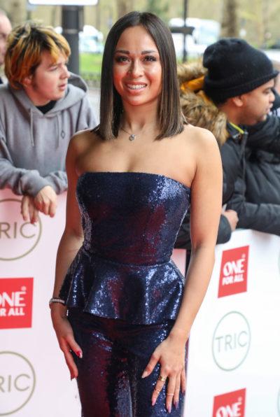 Katya at the TRIC Awards
