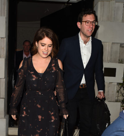Princess Eugenie and hubby exit Harry and Meghan's digs