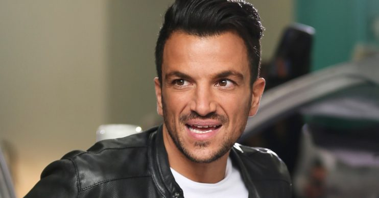 Peter Andre birthday confusion