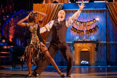 Bill Bailey dances the charleston on strictly after revealing his real name