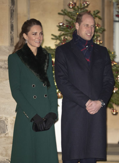 Prince William and wife Kate in Windsor