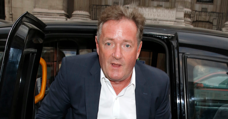 Piers Morgan admitted to being a covidiot after being cauht without a mask in a taxi