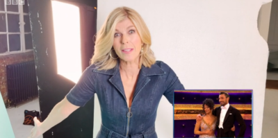 Kate Garraway on Strictly come DAncing