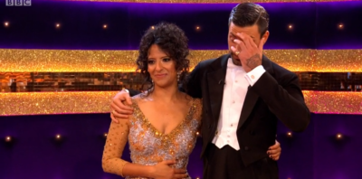 Ranvir and Giovanni on Strictly Come DAncing