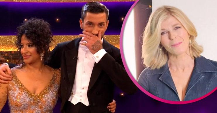 Ranvir Singh and Kate Garraway on Strictly Come Dancing