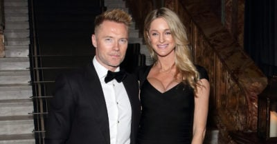 ronan keating with second wife storm keating