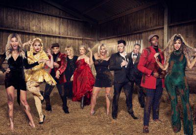 The cast of Celebs on the Farm on MTV