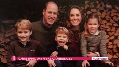 Cambridge's leaked christmas card