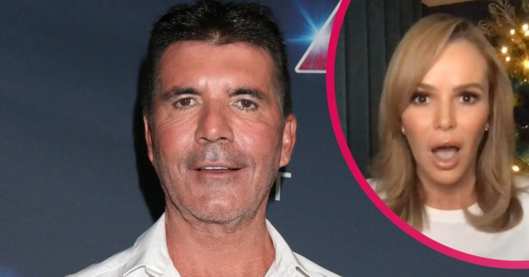 Simon Cowell bike accident recovery update from Amanda Holden