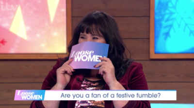 Coleen Nolan was embarrassed on Loose WOmen after revealing she's in a new relationship