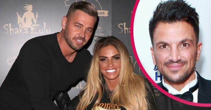 katie price and peter andre carl woods