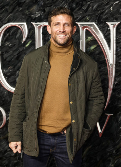 Alex reid on the red carpet