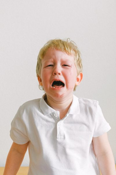 Christmas tantrums