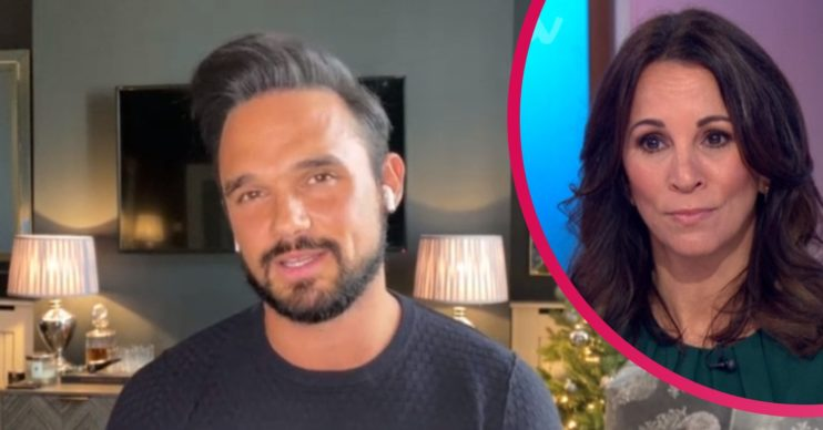 Gareth Gates stammer Andrea McLean