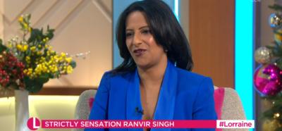 Ranvir Singh on Lorraine
