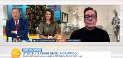 Craig Revel Horwood speaks about Ranvir Singh on Strictly on GMB