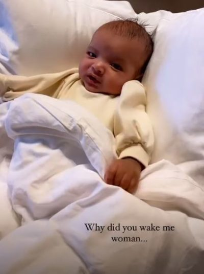 Rochelle Humes baby blake