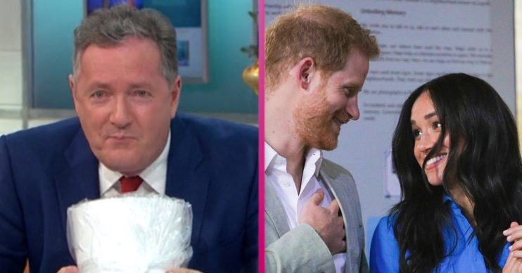 piers morgan reacts to prince harry and meghan markle new podcast