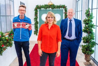 Judges on Great British Christmas Menu