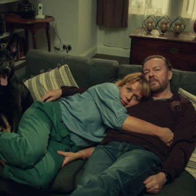 kerry godliman and ricky gervais in after life