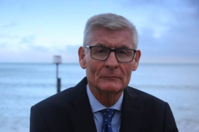 Detective Superintendent Jim Dickie - took over the Suzy Lamplugh investigation in 2000.