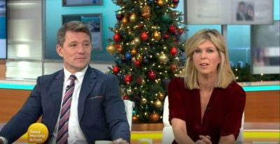 Kate Garraway presents Good Morning Britain