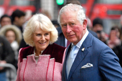 Royal Family Christmas photo Charles and Camilla