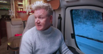 gordon ramsay on itv christmas special road trip
