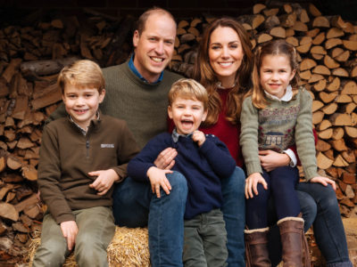 William and Kate christmas card 2020