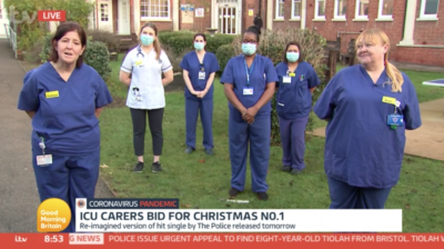 Kate Garraway thanks nurses who looked after he husband