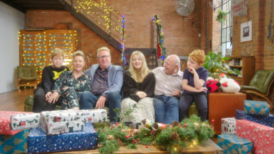 The Wynne family appear on Inside Christmas at Lidl on C5