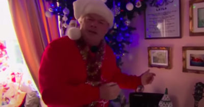 mr christmas on this morning