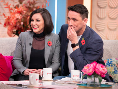 shirley ballas and her boyfriend on Lorraine