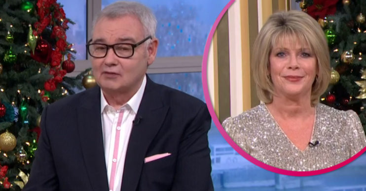 Eamonn Holmes and Ruth Langsford leaving this Morning