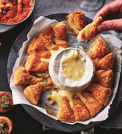 M&S camembert pastry