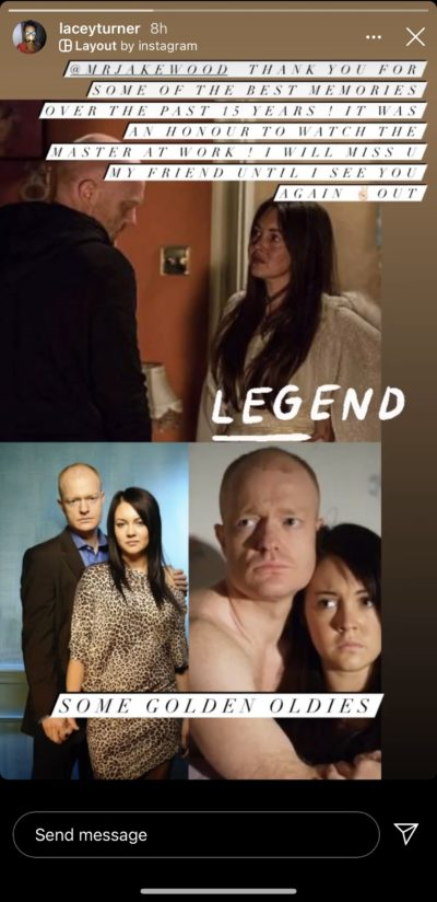 Lacey Turner Jake Wood