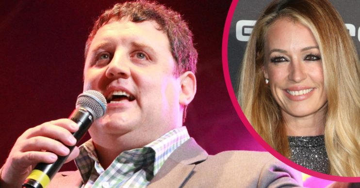 Peter Kay and Cat Deeley. Why did Peter Kay cancel his tour?
