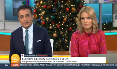 Adil Ray and Charlotte Hawkins on Good Morning Britain