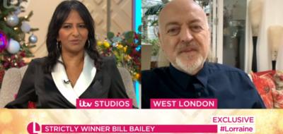 Strictly winner Bill Bailey on Lorraine