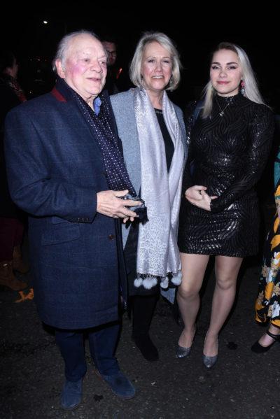David Jason, wife Gill and daughter