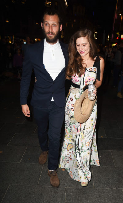 Rachel Shenton and husband Chris Overton